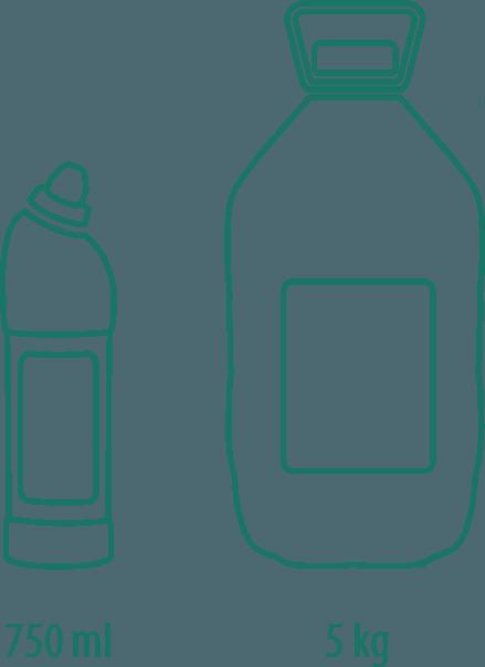 varianty Cipro WC gél