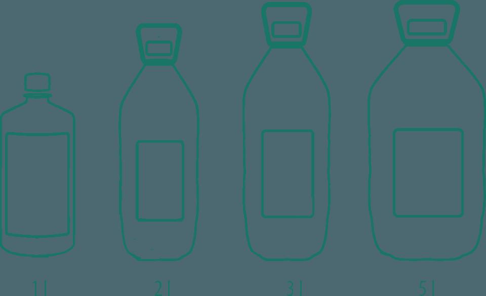 varianty Demineralizovaná voda