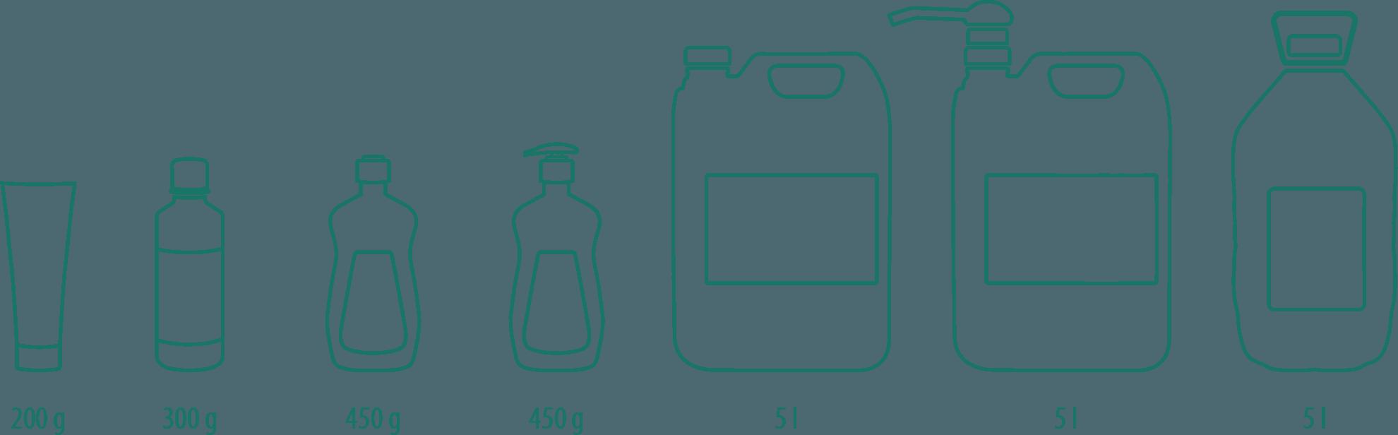 varianty Efekt Liquid