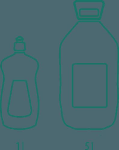 varianty SUPER Prípravok na riad